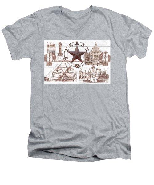 Waco Texas Men's V-Neck T-Shirt