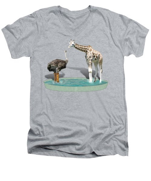 Wading Pool Men's V-Neck T-Shirt