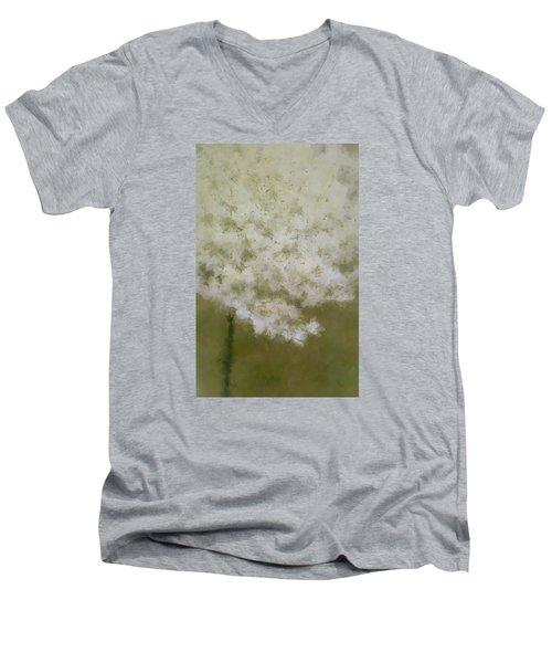 Wait For Me Men's V-Neck T-Shirt by The Art Of Marilyn Ridoutt-Greene