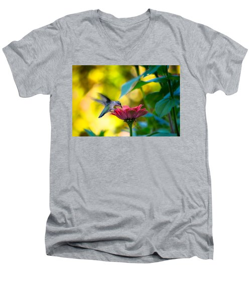 Waiting For Butterflies Men's V-Neck T-Shirt by Craig Szymanski