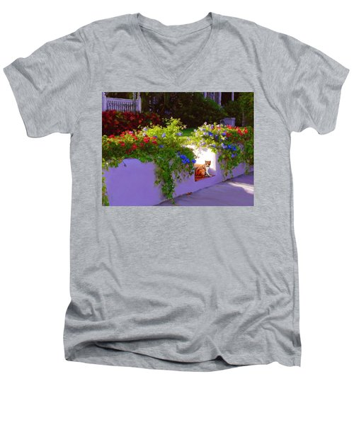 Waiting For Friends Men's V-Neck T-Shirt