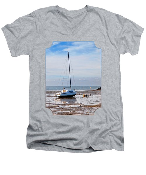 Waiting For High Tide Men's V-Neck T-Shirt