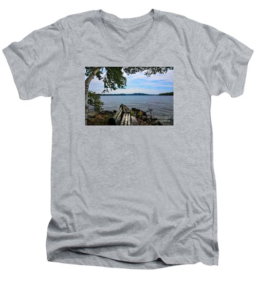 Waiting For Me Men's V-Neck T-Shirt