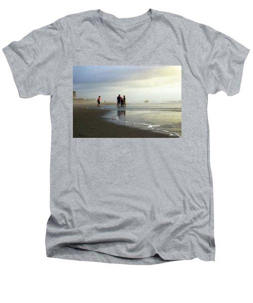Waiting For The Sun Men's V-Neck T-Shirt