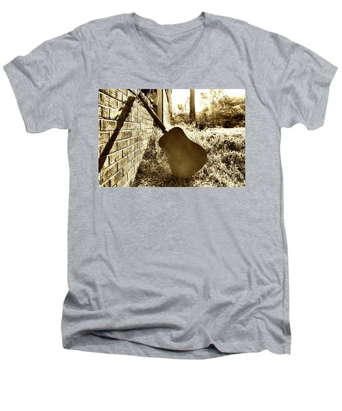Waiting To Play Men's V-Neck T-Shirt