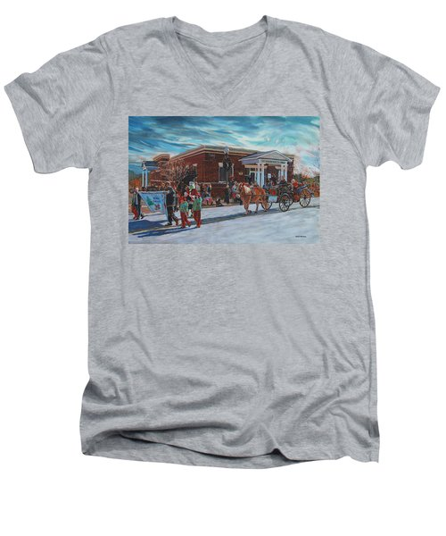 Wake Forest Christmas Parade Men's V-Neck T-Shirt