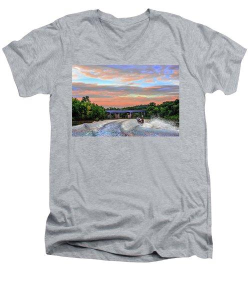 Wake Jumper  Men's V-Neck T-Shirt