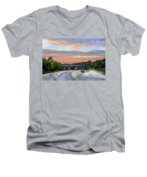 Wake Jumper  Men's V-Neck T-Shirt