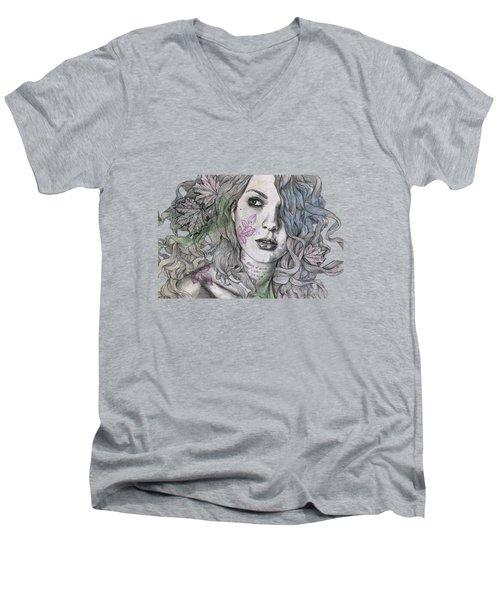 Wake Men's V-Neck T-Shirt