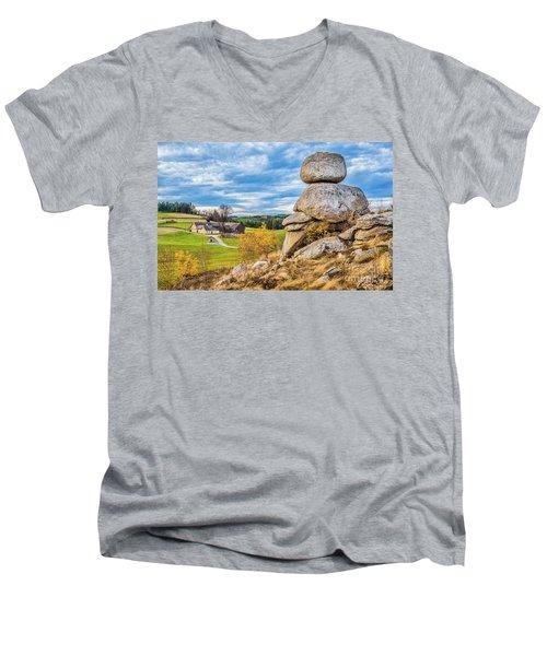 Waldviertel Men's V-Neck T-Shirt by JR Photography