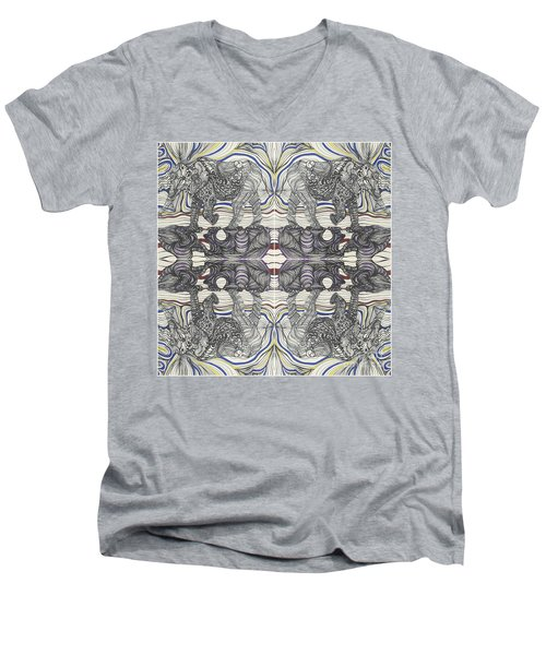 Walk With Me X 4 Men's V-Neck T-Shirt