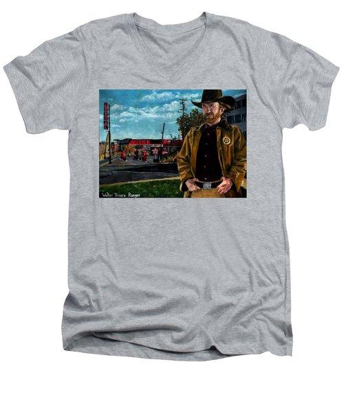 Walker Texaco Ranger Men's V-Neck T-Shirt