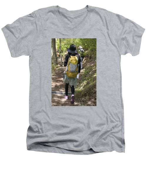 Walking Down Men's V-Neck T-Shirt