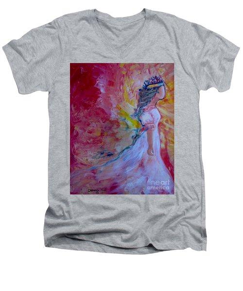 Walking In Authority Men's V-Neck T-Shirt
