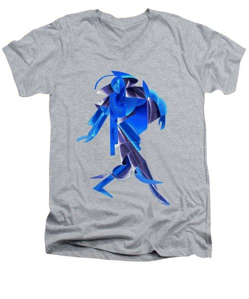 Walking On Water Men's V-Neck T-Shirt