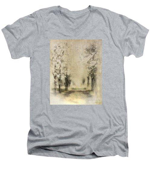 Walking Through A Dream IIi Men's V-Neck T-Shirt by Dan Carmichael