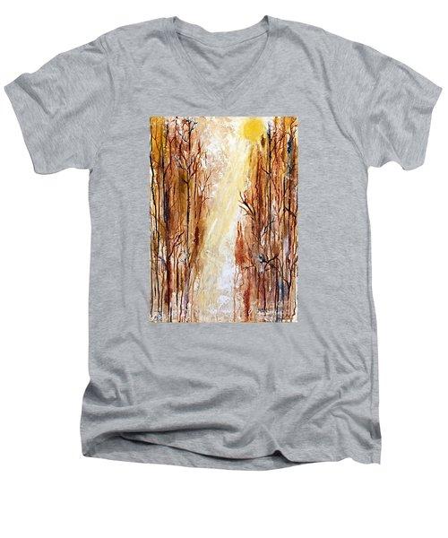 Path To The Creek Men's V-Neck T-Shirt