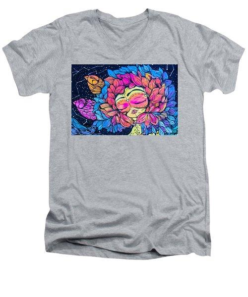 Wall Flowers Men's V-Neck T-Shirt