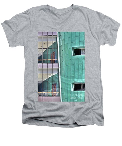 Wall Of Windows Men's V-Neck T-Shirt