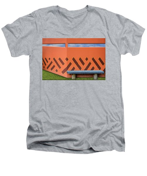 Wall With A View Men's V-Neck T-Shirt