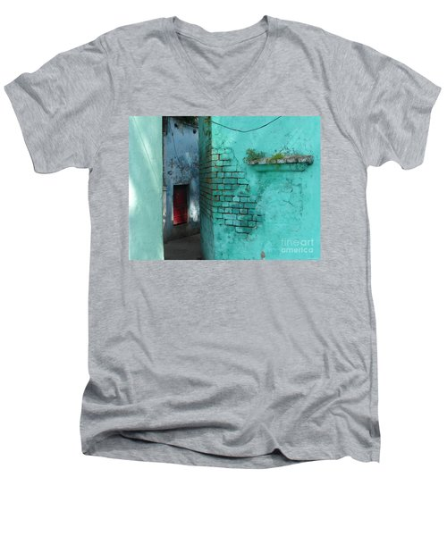 Walls Men's V-Neck T-Shirt