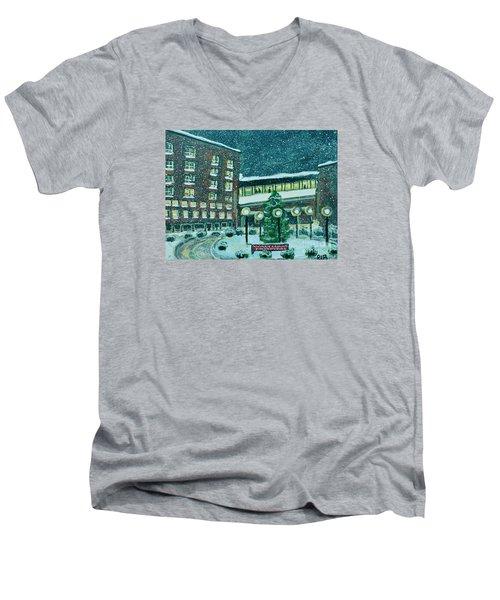 Waltham Hospital On Hope Ave Men's V-Neck T-Shirt