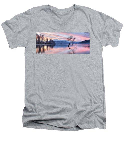 Wanaka Sunset Men's V-Neck T-Shirt