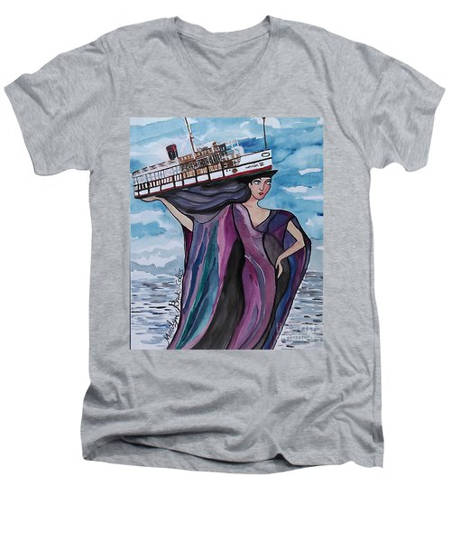 Wanda IIi Men's V-Neck T-Shirt