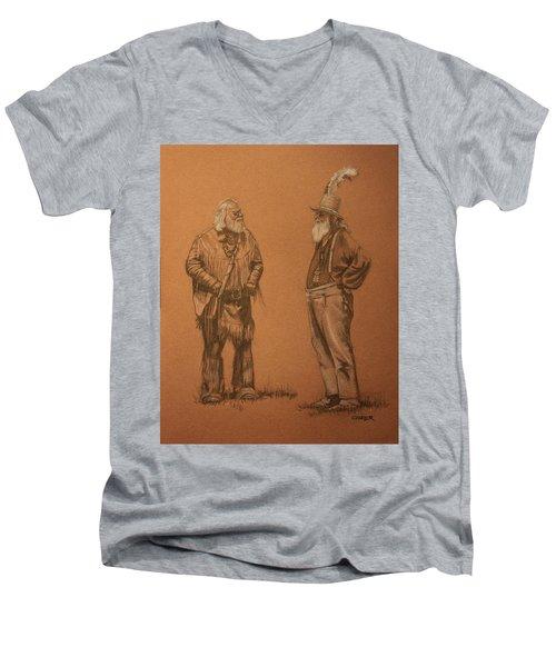 Wanna Buy A Hat? Men's V-Neck T-Shirt