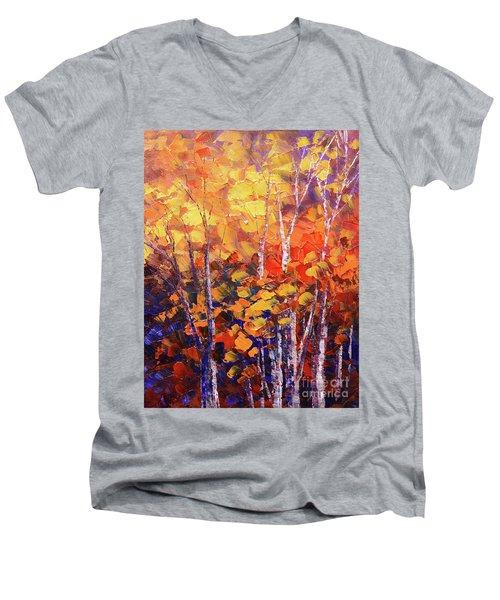Warm Expressions Men's V-Neck T-Shirt