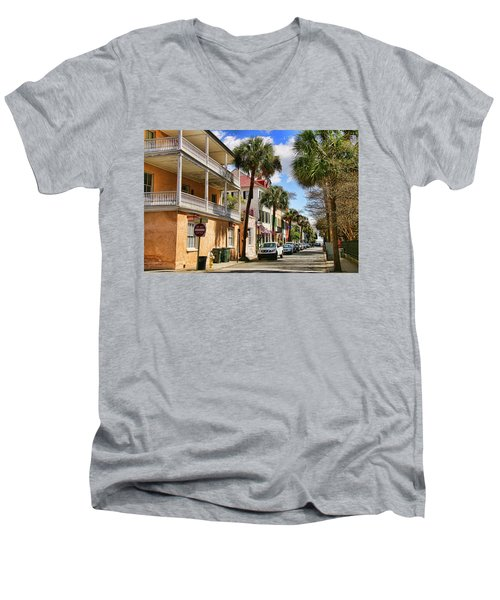 Warm Invite Men's V-Neck T-Shirt