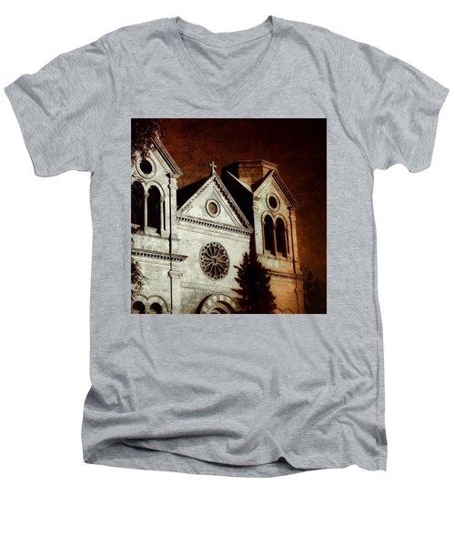 Warming Faith Men's V-Neck T-Shirt
