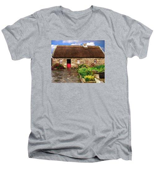 Warmstone Cottage Men's V-Neck T-Shirt