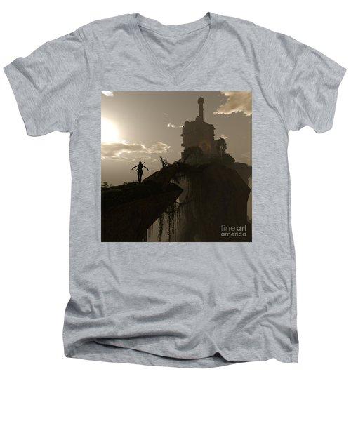 Warrior Fae Men's V-Neck T-Shirt