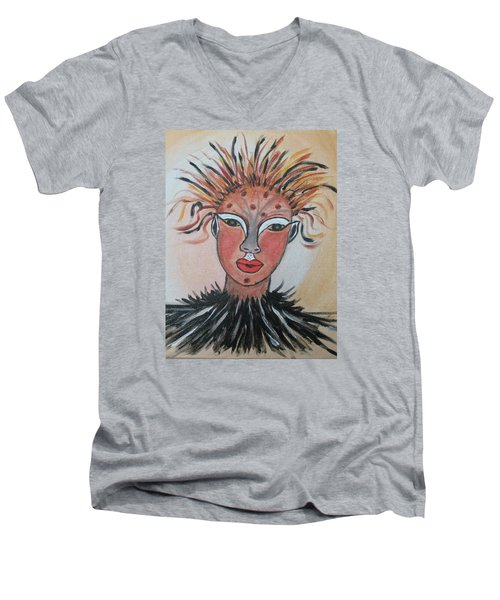 Warrior Woman  #3 Men's V-Neck T-Shirt