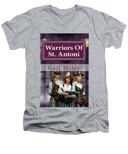 Warriors Of St. Antoni Men's V-Neck T-Shirt