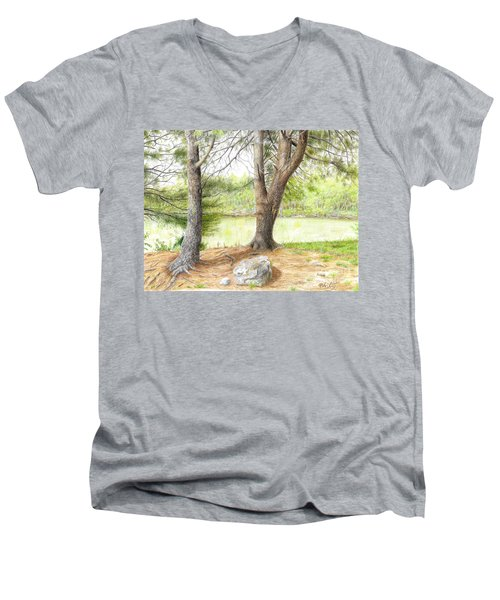 Warriors Path St Park Men's V-Neck T-Shirt