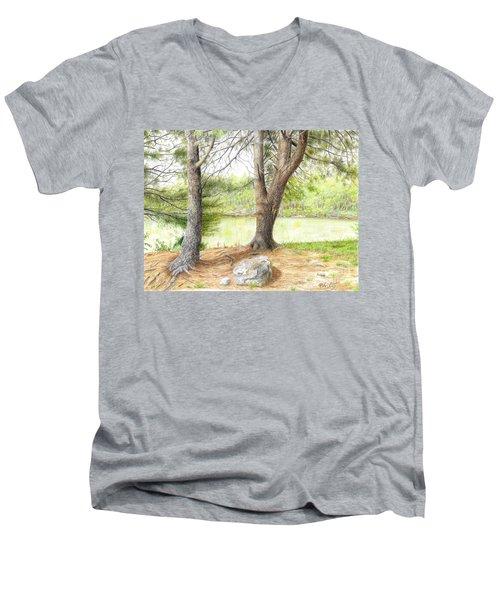 Warriors Path St Park Men's V-Neck T-Shirt
