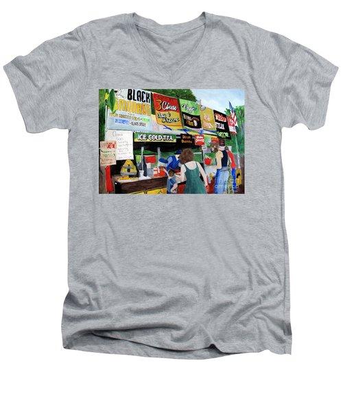 George Washington Carver State Park Men's V-Neck T-Shirt