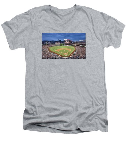 Washington Nationals Park - Dc Men's V-Neck T-Shirt
