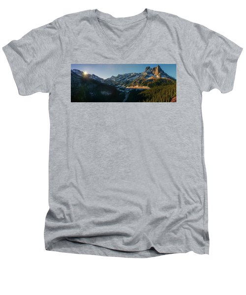 Washington Pass Rising Men's V-Neck T-Shirt