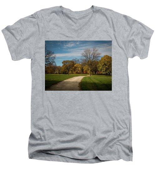 Washington Walkway Men's V-Neck T-Shirt