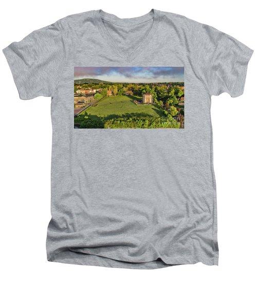 Washington's Headquarters Newburgh Men's V-Neck T-Shirt