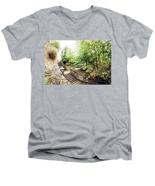 Wassertreppe Men's V-Neck T-Shirt