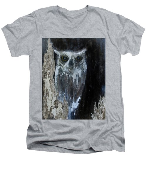 Watcher Of The Woods Men's V-Neck T-Shirt