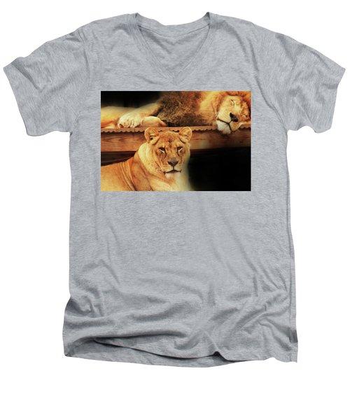 Watchful Eye Men's V-Neck T-Shirt