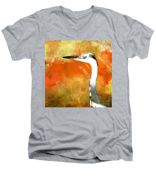 Watching Men's V-Neck T-Shirt