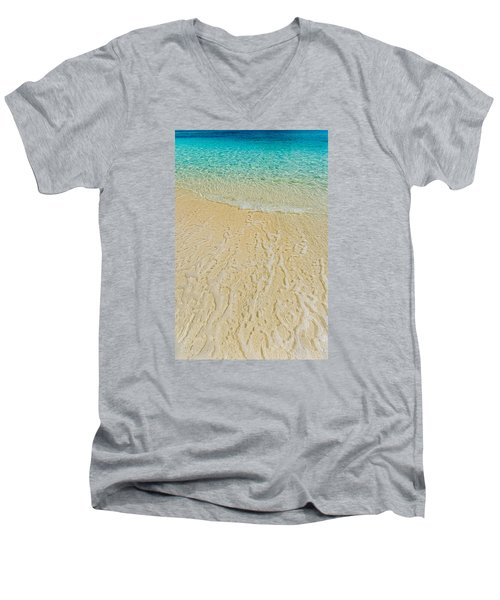 Water Abstract 1 Men's V-Neck T-Shirt