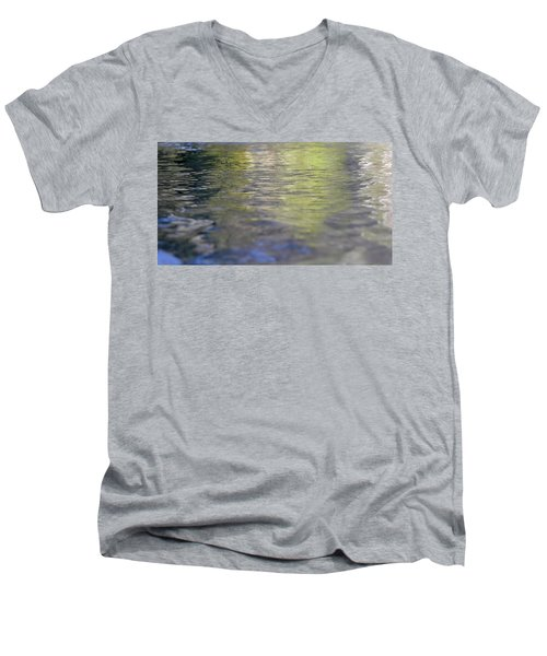 Water Colours Men's V-Neck T-Shirt