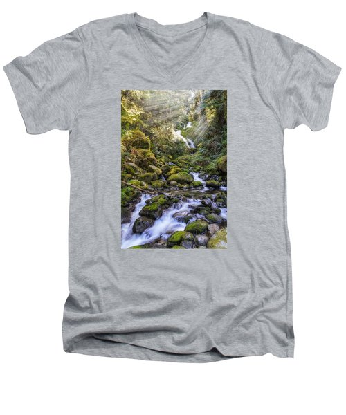 Water Dance Men's V-Neck T-Shirt